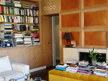 Nate Berkus' library