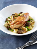 Harold's Pan-Roasted Chicken with Potato Gnocchi Recipe from Top Chef: The Quickfire Cookbook
