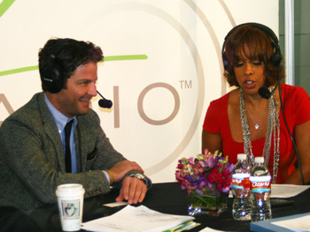 Nate Berkus and Gayle King