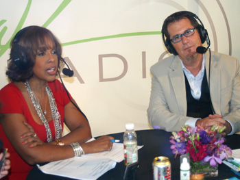 Gayle King and Peter Walsh