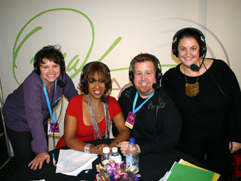 Gayle King and her Oprah Radio producers