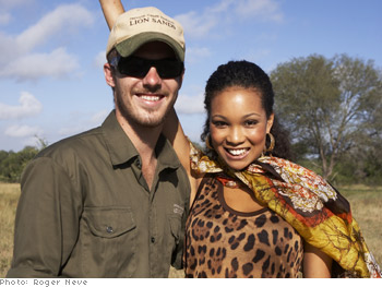 Safari ranger and model