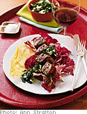 Grilled lamb with salsa verde