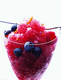 Granita, the classic Italian ice