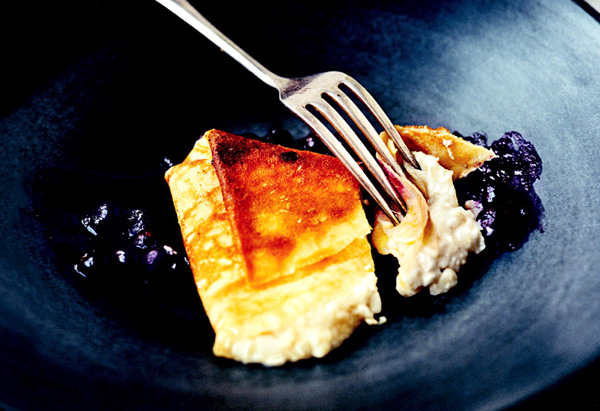 Blueberry Blintzes brunch recipe