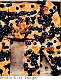 Blueberry focaccia