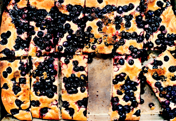 Blueberry Focaccia, breakfast recipe, muffin,