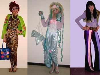 Debbie dressed as Cher.