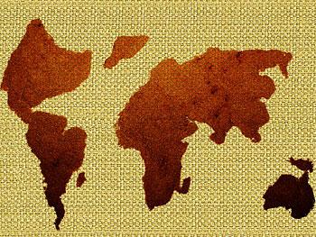 Map of chocolate regions