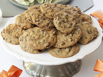 Cristina Ferrare's recipe for Super-Duper Chunky Chocolate Chip Cookies
