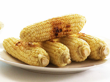 Cristina Ferrare's recipe for Grilled Corn on the Cob