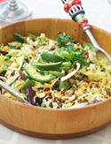 Cristina Ferrare's taco salad