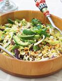 Cristina Ferrare's taco salad