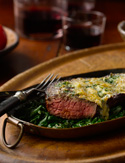 Steak Florentine from Morton's The Cookbook
