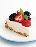 Low-Fat Berry Cheesecake from Top Chef: The Cookbook