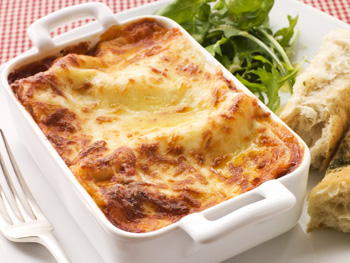 Baked lasagna