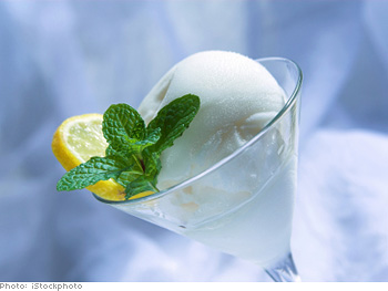Tropical Sorbet Martinis