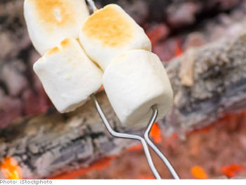 Grilled S'more recipe