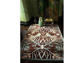 Catherine Martin's acacia rug