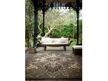 Catherine Martin's lace rug