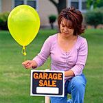 Organize a yard sale.