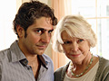 Michael Imperioli and Ellen Burstyn