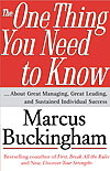 'The One Thing You Need to Know' by Marcus Buckingham
