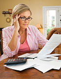 Look for deductions on your tax return.