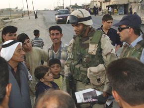 Eli Williamson in Iraq