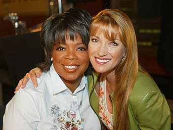 Jane Seymour and Oprah
