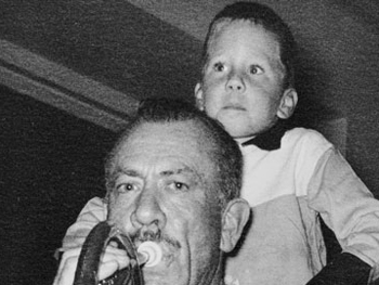 John Steinbeck and son