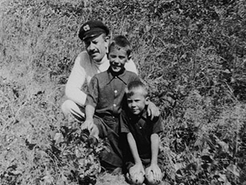 Steinbeck and his sons