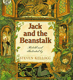 Jack and the Beanstalk retold and illustrated by Steven Kellogg
