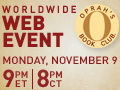 Oprah's Book Club webcast