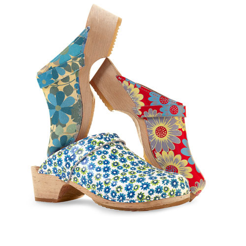 Cape Clogs Printed Clogs