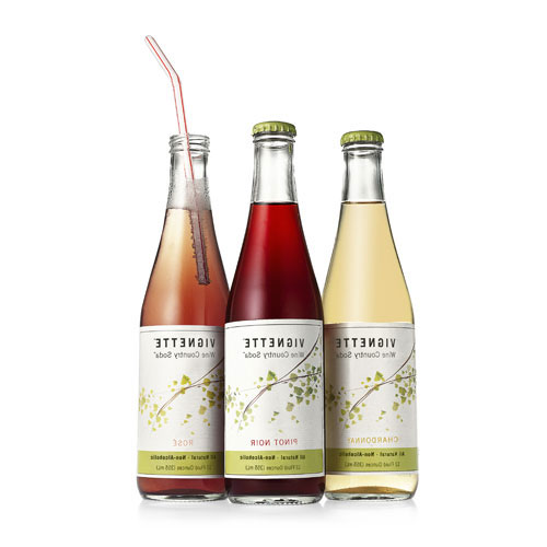 Vignette Nonalcoholic Wine Country Soda