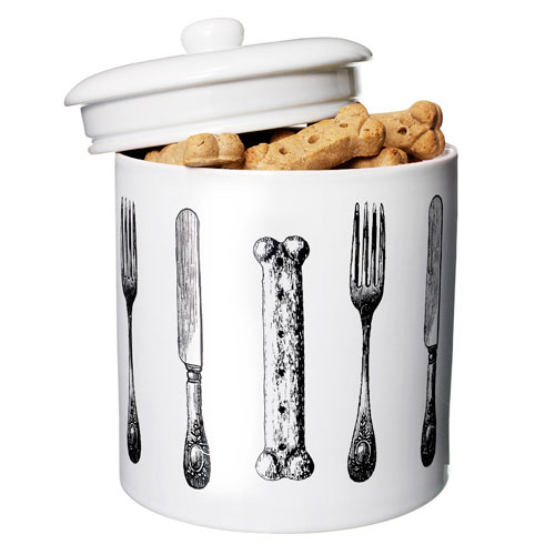 Dogs Uncorked Treat Jar