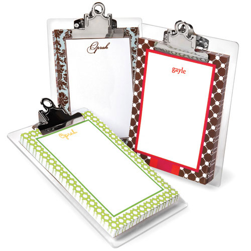 Whitney English Personalized Notepads