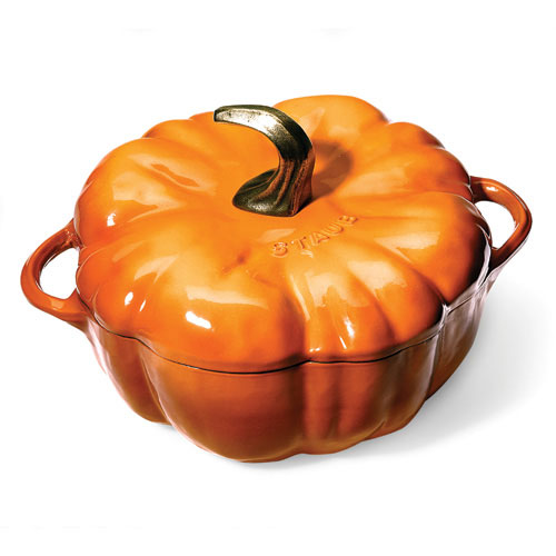 Staub Pumpkin-Shaped Pot