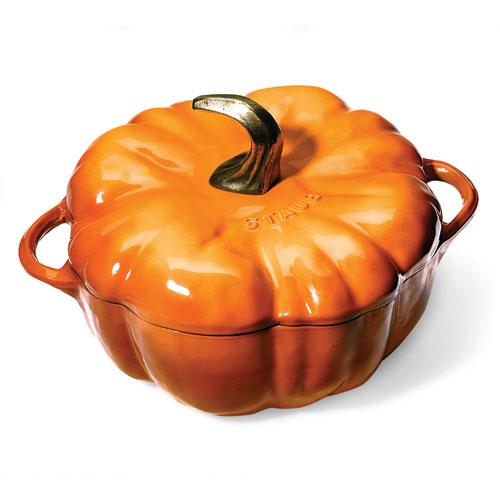 Staub Pumpkin-Shaped Pot