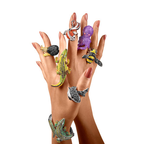 Noir Jewelry Creature Rings