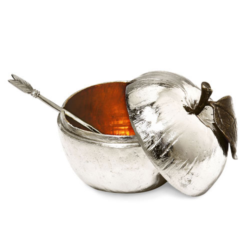 Michael Aram Nickel-Plated Honey Pot