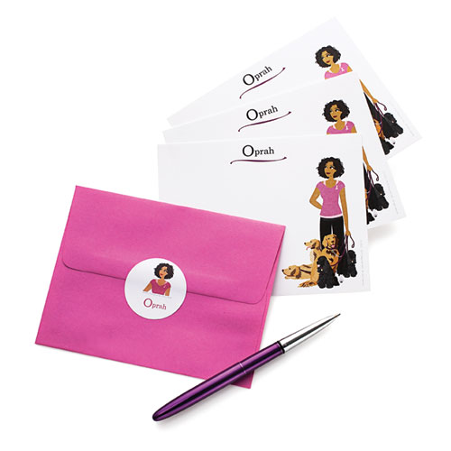 Design-her Gals Personalized Stationery