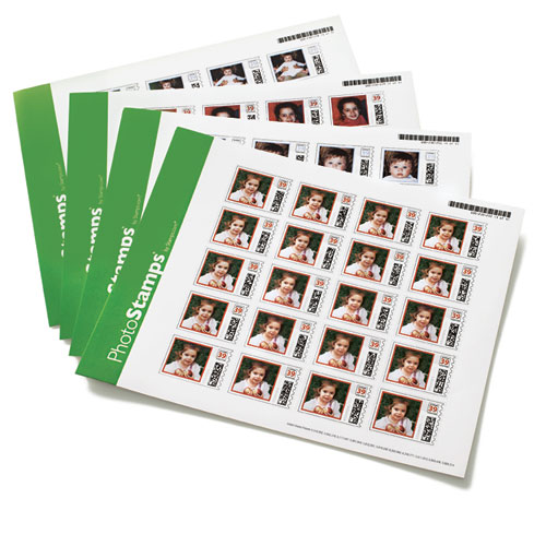 PhotoStamps Personalized Stamps