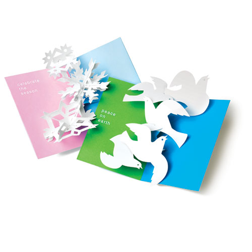 MoMA Pop-Up Holiday Cards