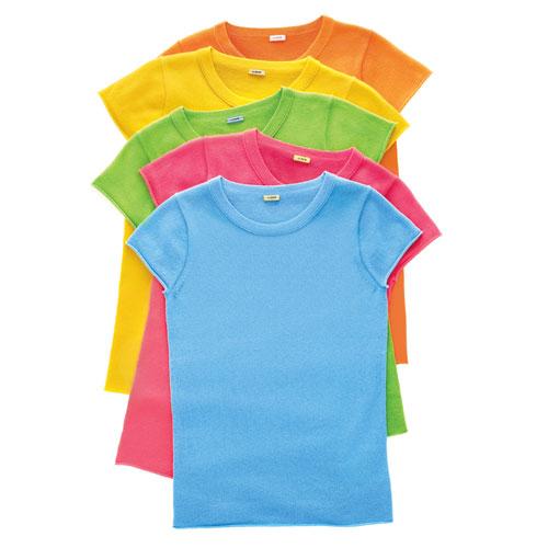 J. Crew Cashmere Short-Sleeve Tee-Shirt