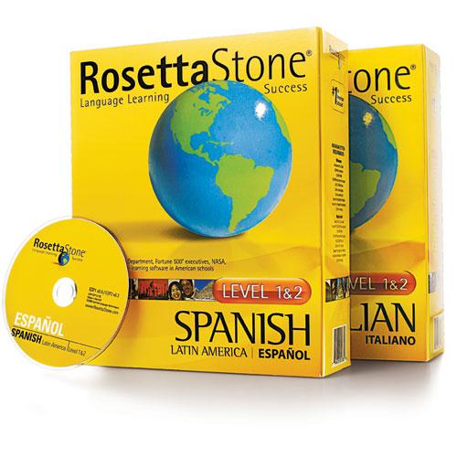 Rosetta Stone Language Classes on CD