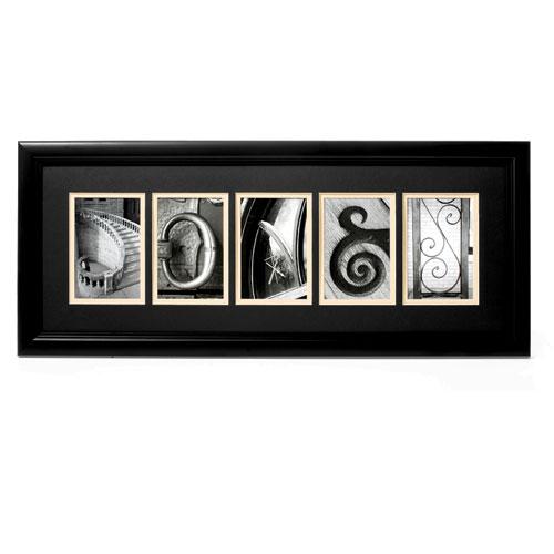Sticks and Stones Alphabet Photographs