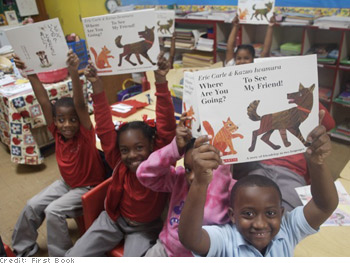 Children in more than 27 countries now have books of their own.
