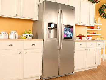 HDTV Refrigerator with Weather and Info Center from LG Electronics